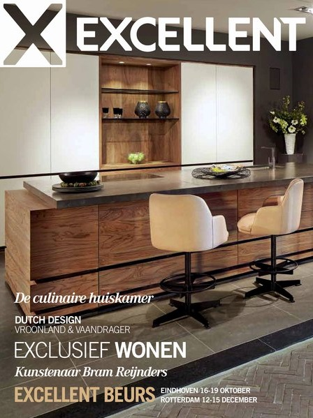 Magazine Excellent architect Marco v Veldhuizen en Holleman Parket