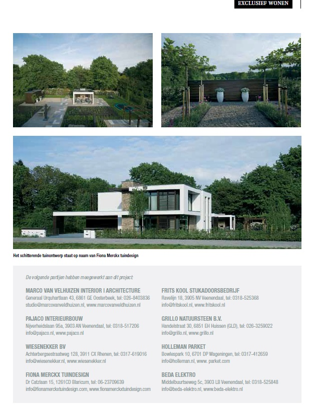 Project samenwerking Architect en Holleman Parket